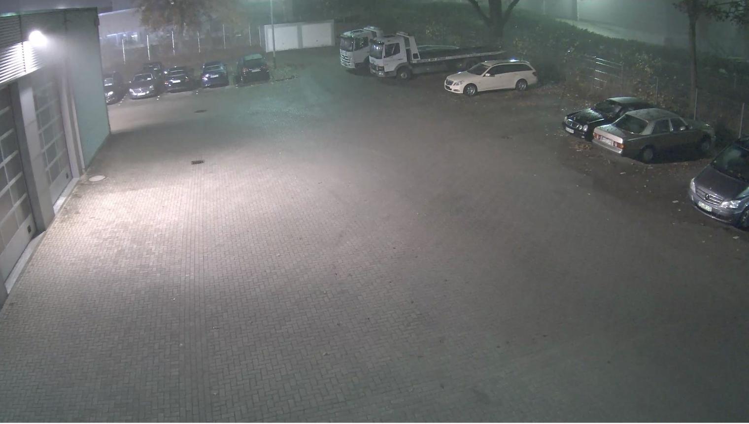 IP Videoüberwachung bei Nacht